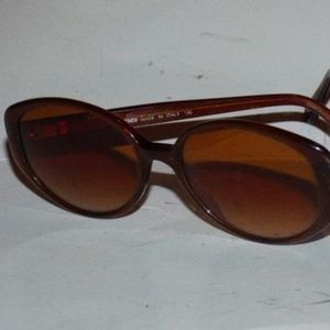 Fendi Pinkish Brown Plastic Frame Vintage